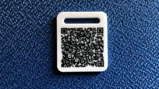 迷子札QRコード